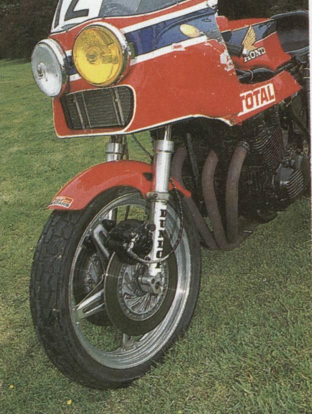 Honda RCB/RSC (d'époque) RCB-8