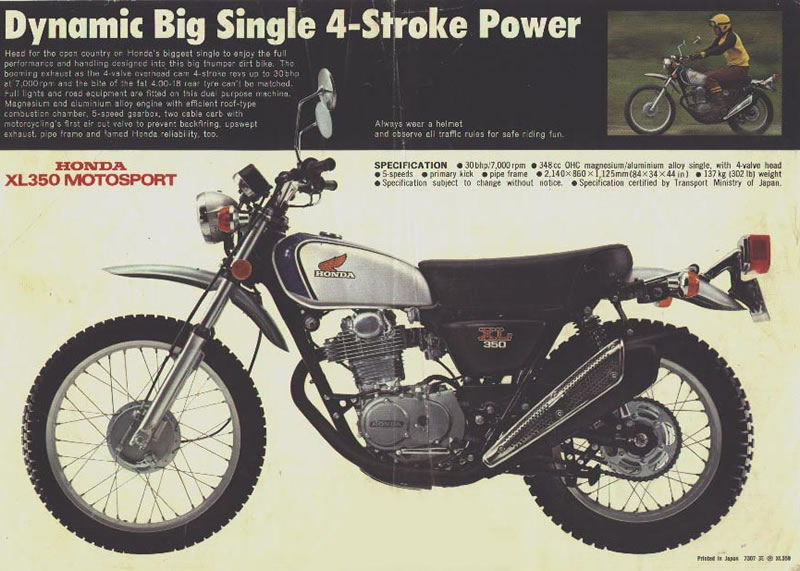 The Honda XL (and other vintage singles) thread! | Adventure