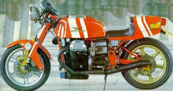 moto guzzi race bike