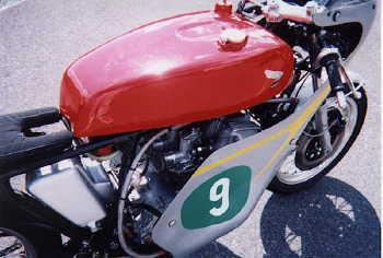 The Cr750 Honda